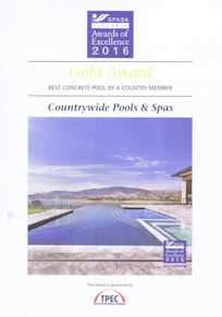 2016 – Best Concrete Pool by a Country Member