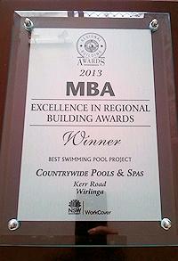 2013 – Best Pool Award