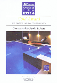 2014 – Best Concrete Pool by a Country Member